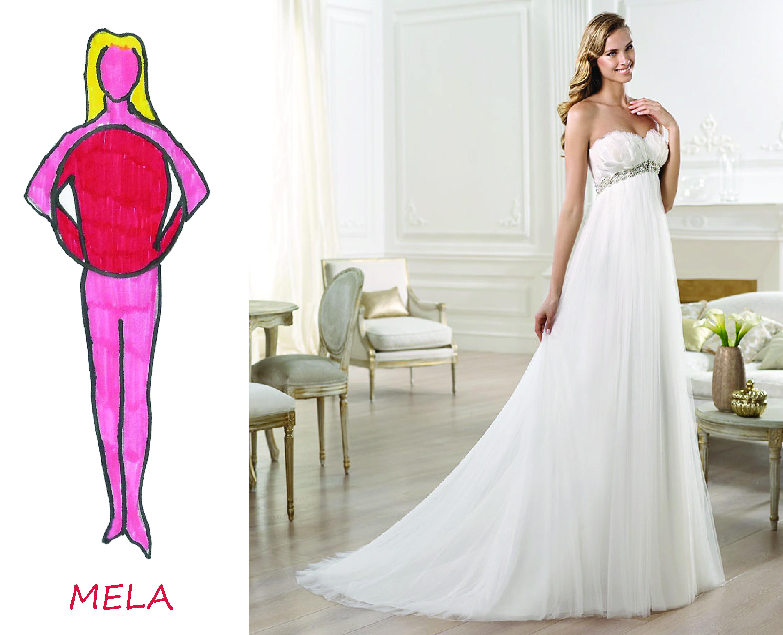 Abiti da sposa per donne con molto seno
